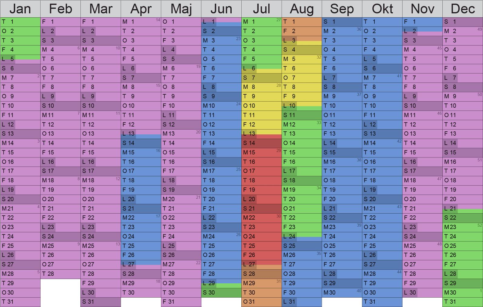 kalender2019